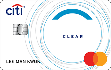 Citi Clear Card信用卡圖像